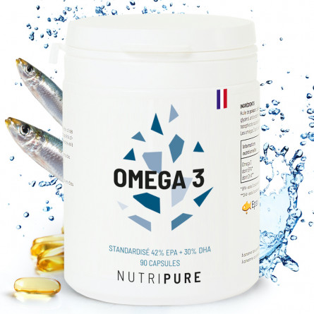 capsules Omega 3 EPAX silverquality