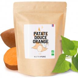 farine de patate douce orange